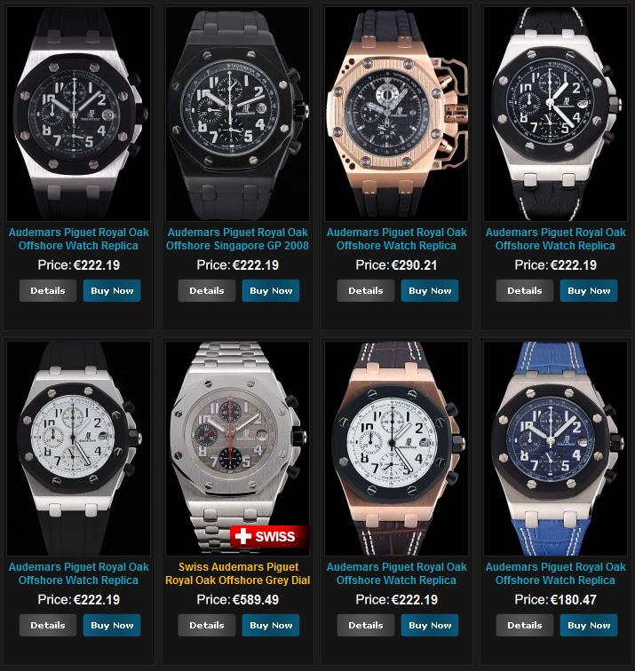28f2c7249af Replica Audemars Piguet Royal Oak Offshore Watches